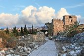 picture of crusader  - The ancient crusader fortress in Byblos  - JPG