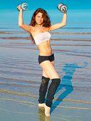 Woman Portrait Fitness