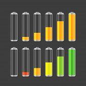 Different transparent accumulator collection