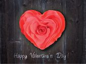 Beautiful greeting card for Valentine's day or invitation to wedding. Romantic vector background.