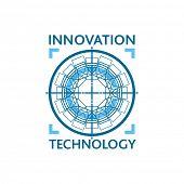 Innovation technology logo concept.