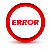 Red error icon