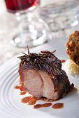 roasted suckling pork meal