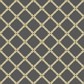 Geometric Seamless  Abstract Golden Grill