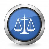 justice icon law sign