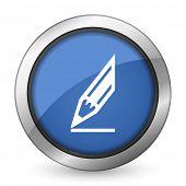 pencil icon draw sign