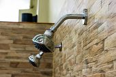 Shower Head On The Wall