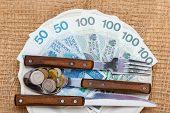 Polish Money On Kitchen Table, Coast Of Living