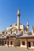 foto of rumi  - Mevlana museum mosque in Konya - JPG