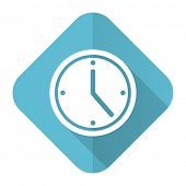 time flat icon watch sign