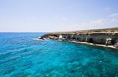 Sea caves in Cyprus near Agia Napa