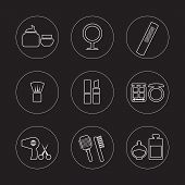 Cosmetics Icons.