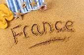 France Beach Writing