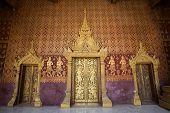 The Doors Of Temple, Luang Prabang, Laos