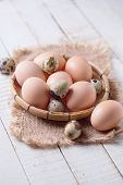 Chicken Andquail Eggs