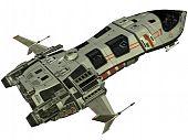 Futuristic Spaceship