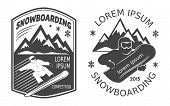 Snowboard Labels