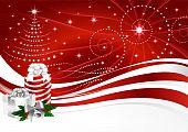 Background Christmas horizontal
