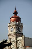 Clock tower of The Sultan Abdul Samad Building