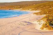 Western australian seascape at dawn