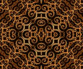 Islamic Style Art Pattern