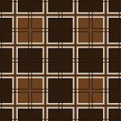 Mosaic of brown squares