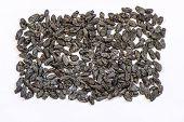Black colored raisins are actually the dried small Black Corinth or Zante currant grapes