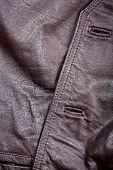 Fragment Of Leather Vest