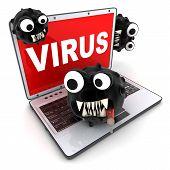 Laptop And Virus