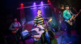 picture of rocking  - Band performs on stage - JPG