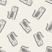 image of taser  - Stun Gun Doodle - JPG