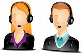 Call Center Agent Avatars