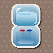foto of dispenser  - Home Appliances Theme Dispenser Elements - JPG