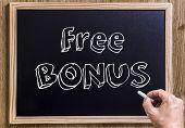 stock photo of hands-free  - Free Bonus  - JPG
