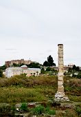 stock photo of artemis  - The temple of Artemis was rated as a wonder of the ancient world - JPG