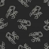 picture of scorpion  - Scorpion Doodle - JPG