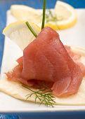 Tuna Sandwich Appetizer