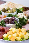 antipasti catering Platte