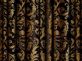 Luxury Curtain, vector background