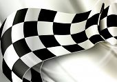 stock photo of motocross  - Background Horizontal Checkered - JPG
