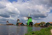 Authentic Dutch Windmills