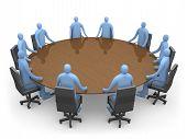 Hebben van een vergadering