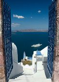 Welcome In Santorini