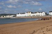 Bay And Beach Of Exmouth