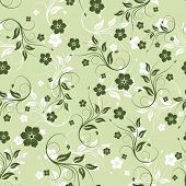 Floral seamless background for yours design usage