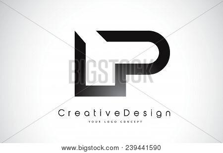 Lp L P Letter Logo