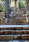 Pasos de piedra