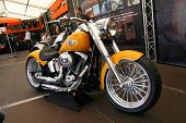 FAAKER SEE, AUSTRIA - SEPTEMBER 10: Custom motorcycles are shown at European Bike Week on September