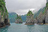 Misty Ocean Bay