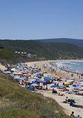 Holiday Beach Scene